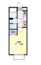 エスペラント[2階]の間取り