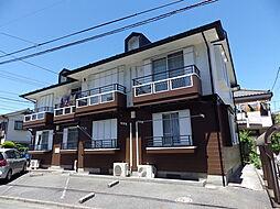 東京都八王子市上野町の賃貸アパートの外観