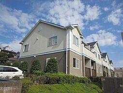 神奈川県横浜市青葉区荏田北1丁目の賃貸アパートの外観