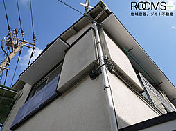 東京都世田谷区羽根木1丁目の賃貸アパートの外観