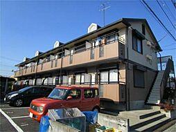東京都日野市万願寺5の賃貸アパートの外観