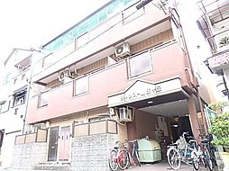 大阪府東大阪市源氏ケ丘の賃貸マンションの外観