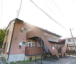 福島県郡山市菜根4丁目の賃貸アパートの外観