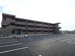 栃木県宇都宮市西川田3丁目の賃貸マンションの外観