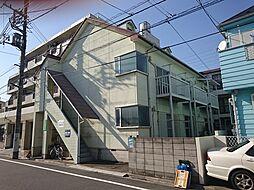 東京都板橋区高島平7丁目の賃貸アパートの外観