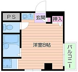 倉田ハイツ司[7階]の間取り