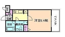 セイワパレス福島駅前[5階]の間取り
