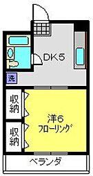 神奈川県横浜市港南区丸山台3丁目の賃貸マンションの間取り