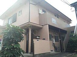 東京都昭島市松原町1丁目の賃貸アパートの外観