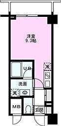 ART APARTMENT IN TOKYO NORTH 2階ワンルームの間取り