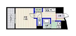 フォルテーネ飯倉[2階]の間取り
