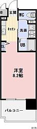 三重県四日市市西新地の賃貸マンションの間取り