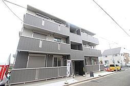 神奈川県横浜市港南区日野6丁目の賃貸アパートの外観