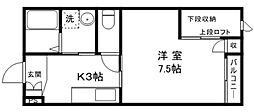 Pieno[2階]の間取り