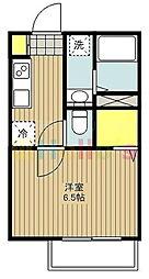 メゾンシーマ[1階]の間取り