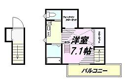 京王高尾線 高尾山口駅 徒歩10分の賃貸アパート