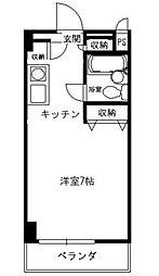 第7植村ビル[3階]の間取り