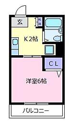 それいゆK[2階]の間取り