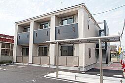 愛知県岩倉市大市場町の賃貸アパートの外観