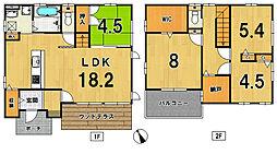 [一戸建] 福岡県筑紫野市美しが丘南3丁目 の賃貸【/】の間取り