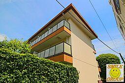 千葉県市川市市川南3の賃貸マンションの外観
