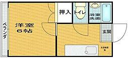 オーナハイツII[102号室]の間取り
