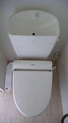 ファイン ビューの温水洗浄便座付トイレ