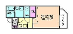 セイワパレス福島駅前[4階]の間取り