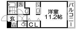 ティアラコート東香里[1階]の間取り
