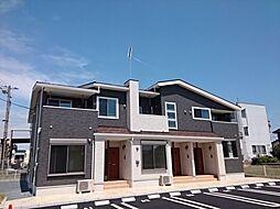 茨城県下妻市小島の賃貸アパートの外観