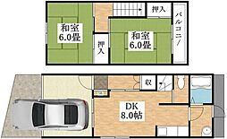 喜連東住宅[1階]の外観