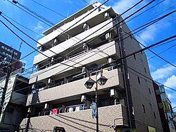 神奈川県川崎市中原区新城5丁目の賃貸マンションの外観