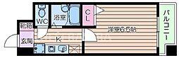 ホープシティー天神橋[3階]の間取り