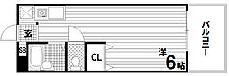 エステートピア板宿[2階]の間取り