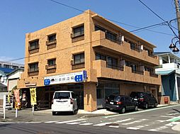神奈川県横浜市青葉区さつきが丘の賃貸マンションの外観