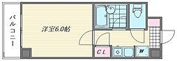 ダイナコート箱崎II[202号室]の間取り