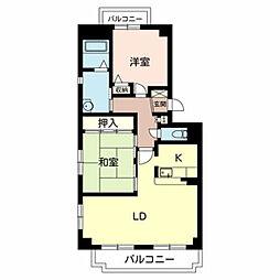 Le Stanze[1階]の間取り