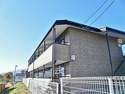 長野県伊那市山寺の賃貸アパートの外観