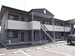 静岡県島田市井口の賃貸アパートの外観