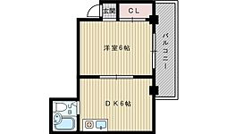 プレゼンスハイツ[2階]の間取り