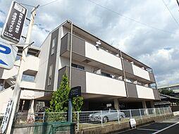 大阪府箕面市小野原東3丁目の賃貸マンションの外観