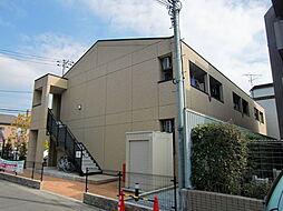 埼玉県川口市東川口4丁目の賃貸アパートの外観