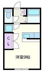 フォーレストIII[1階]の間取り