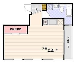 T・M・A[3階]の間取り