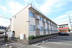 新潟県新発田市御幸町2丁目の賃貸アパートの外観