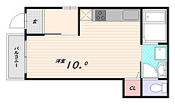 大池ハイツ[1階]の間取り