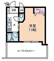 アヴェニール高井戸[3階]の間取り