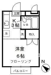 リヴェール高井戸[2階]の間取り