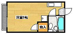 レーゲ・ハマノ[2階]の間取り