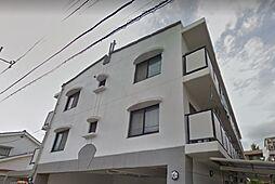 東京都日野市多摩平7丁目の賃貸マンションの外観